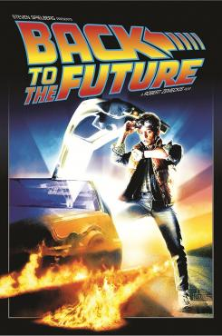 Back to the Future graphic