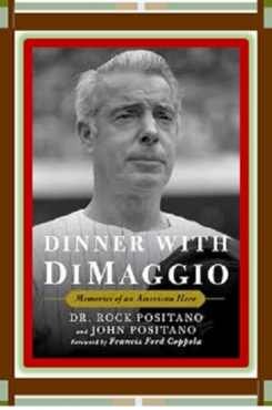 Dinner with DiMaggio graphic