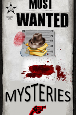 Most Wanted Mysteries - New Titles @ Lisle Library graphic