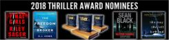 International Thriller Writers Awards graphic